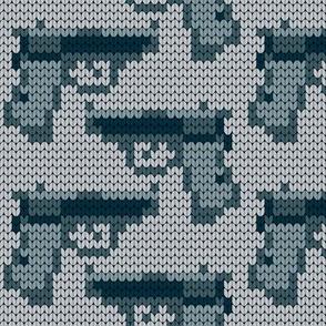 08180857 : knit gun ppk 1g : noir