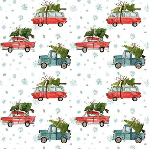 """4"""" Santa's Other Ride // Snowflakes"""