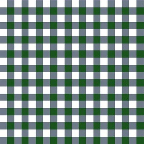 "8"" Green and Blue Plaid"