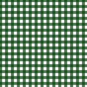 "4"" Green Plaid"
