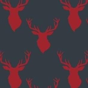 """4"""" Red Deer Blue Back"""
