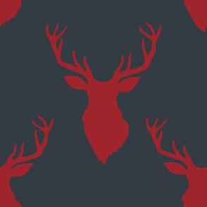 """8"""" Red Deer Blue Back"""