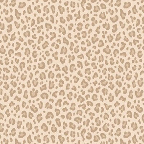 ★ LIGHT LEOPARD ★ Leopard Print in Beige - Tiny Scale / Collection : Leopard spots – Punk Rock Animal Print