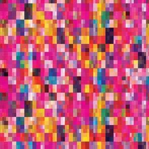 Pixel Quilt Pink - SM