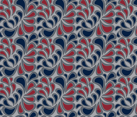 Simply Paisley  fabric by annalei on Spoonflower - custom fabric