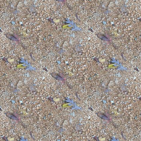 Gravel Path | Photorealistic Subtle Stripe fabric by lochnestfarm on Spoonflower - custom fabric