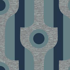 Mod neutral blue
