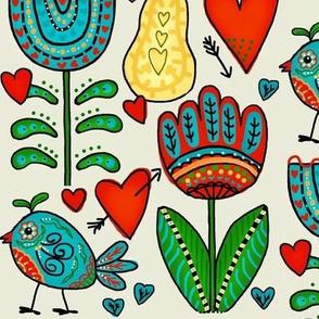 Hopes Garden / Folk Art