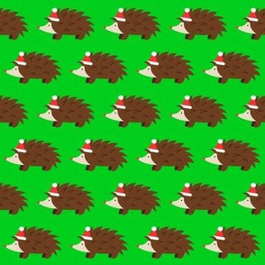 Santa Hedgehog