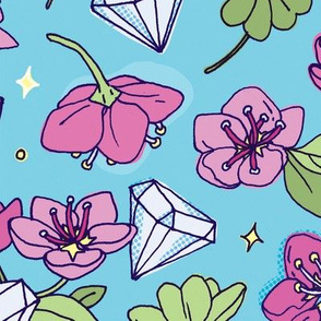 Flower, Clovers & Diamonds