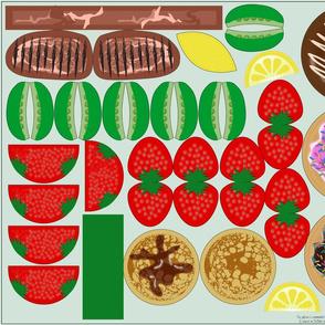 PENDING: CutNSew: Playfood Donuts