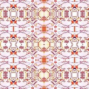Illuminated pink Sky  Tapestry