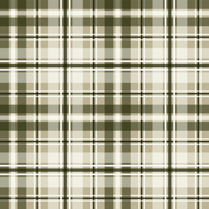 Loden green masculine plaid