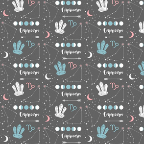 Capricorn Zodiac Sign Pattern