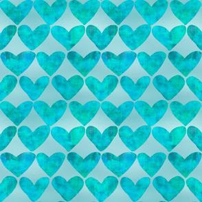Heart Pattern pink
