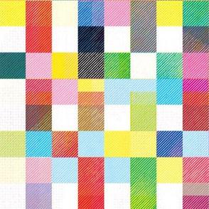Modern Quilt - Summer Bright