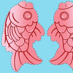 Taiyaki Pink Cut & Sew