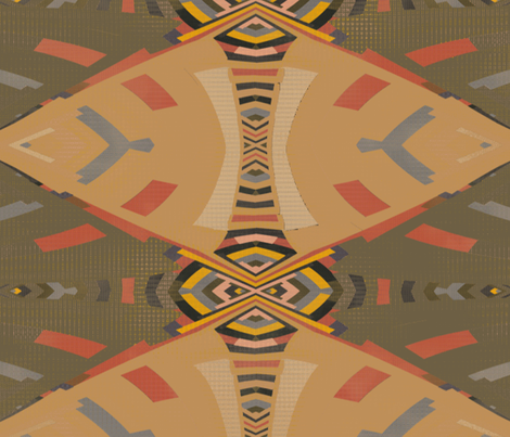 Kunyaba (3) fabric by david_kent_collections on Spoonflower - custom fabric