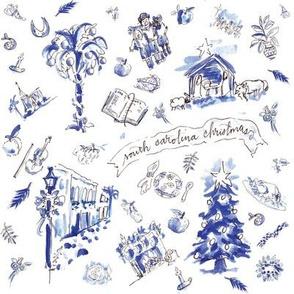 SC Christmas Toile