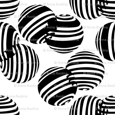 black and white spheres2