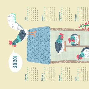 2020_henhouse calendar