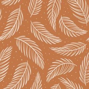 Palm Leaves - Rust