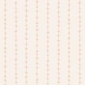 Thyme Pinstripes - Blush