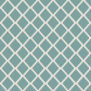 connected grey _ teal