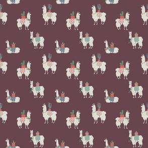 Llamas Every Where Maroon 150