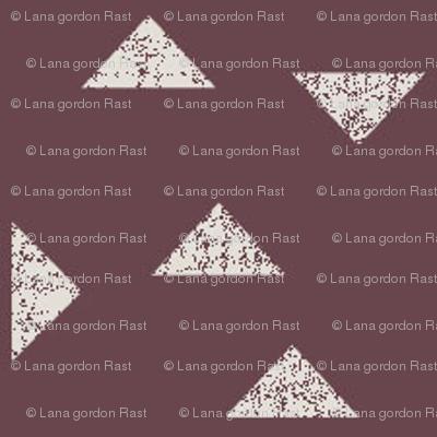 Triangles Maroon 150 DPI