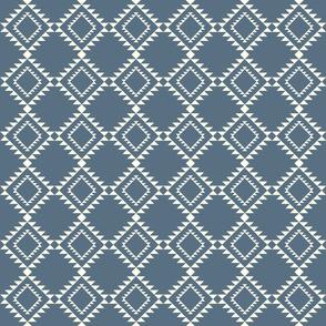 Southwestern Blanket design blue-2 150