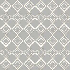 Southwestern Blanket design gray-2 150