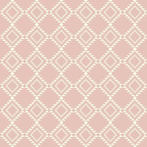 Southwestern Blanket design shell pink2 150