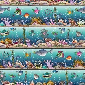 Ocean Floor Stripe