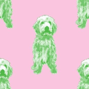 Goldendoodle Fabric