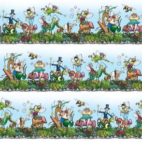 Fairies and Bugs Stripe