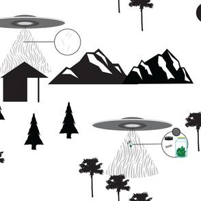 Aliens stole mah stash! LG Scale