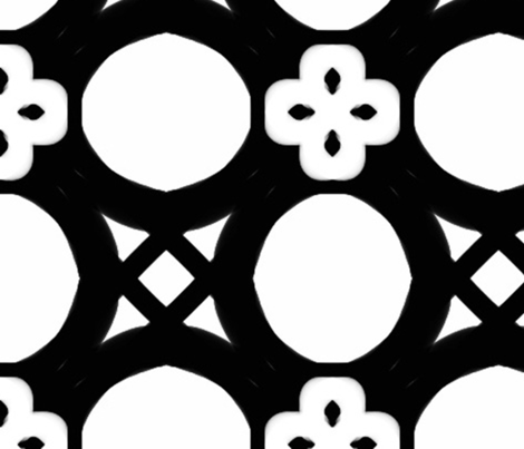 black and white large crop lg fabric by erin_mcclain_studio on Spoonflower - custom fabric