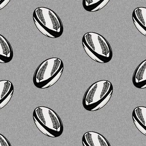 rugby ball fabric - new zealand all blacks rugby fabric, rugby fabric, sports fabric, black and white rugby all, sport fabric - grey with ferns