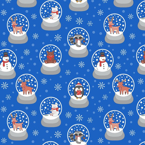 Forest Snowglobes