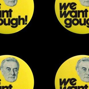 We Want Gough - Black - 5inch