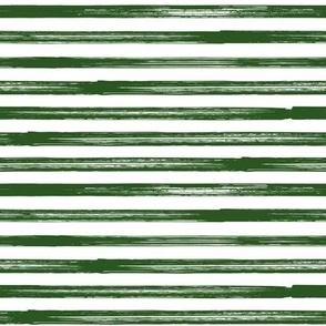 Marker Stripes - dark green