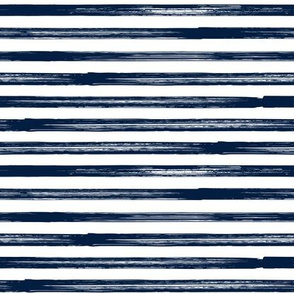 Marker Stripes - navy