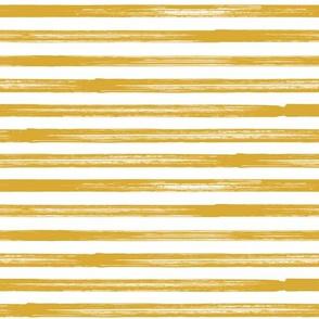 Marker Stripes - mustard