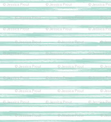 Marker Stripes - aqua