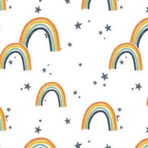 Rainbows and Stars - Adobe Project Paras