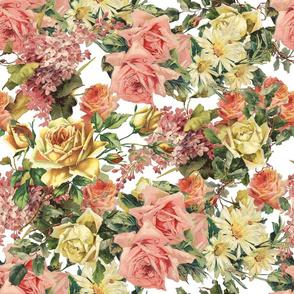 Pastel Vintage Roses