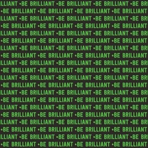 be brilliant micro | green black