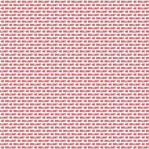 be brilliant micro | red white