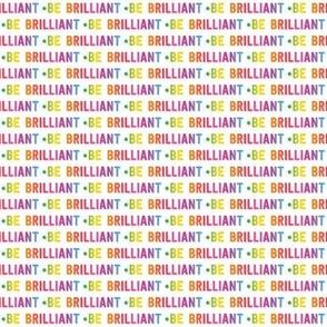 be brilliant micro | rainbow white